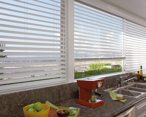 Faux wood blinds long island for Blinds for long windows