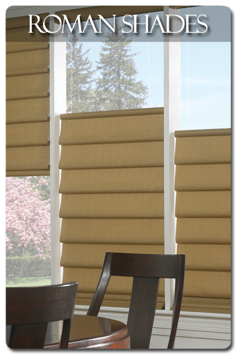 the ultimate in versatility roman shades offer you the ability to operate window treatments from the top down or the bottom up to meet