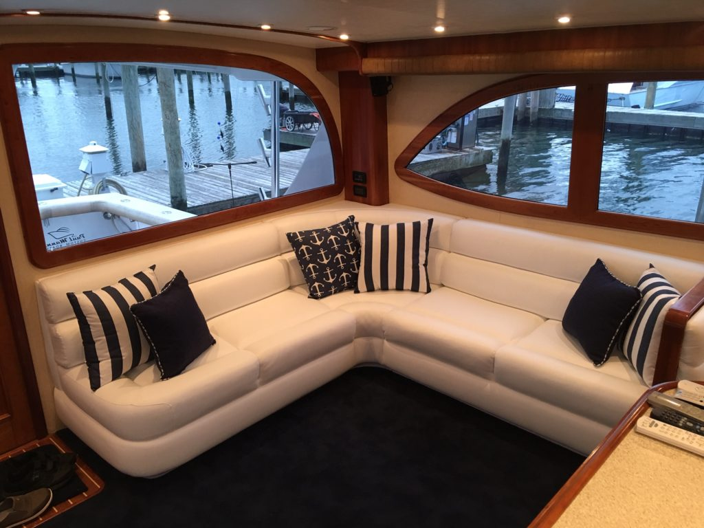 Custom Boat Interiors Amp Upholstery Long Island Window